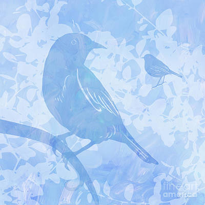 Tree Birds I Poster