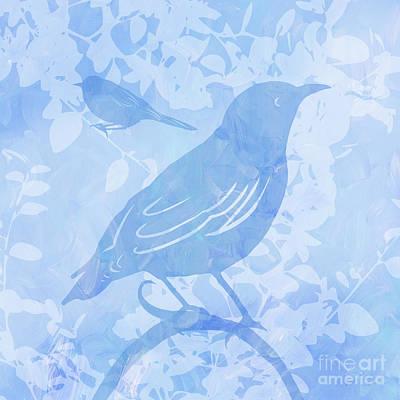 Tree Birds II Poster