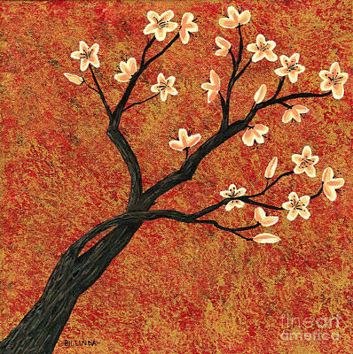Tree Blossoms Poster by Billinda Brandli DeVillez