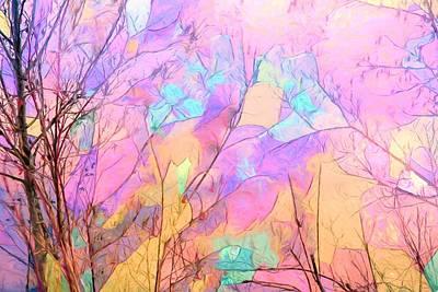 Tree Dance Poster by Kathy Bassett