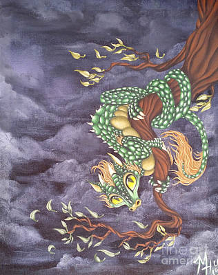 Tree Dragon Poster
