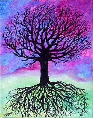 Tree In Fantasy Poster by Mandy Harpt
