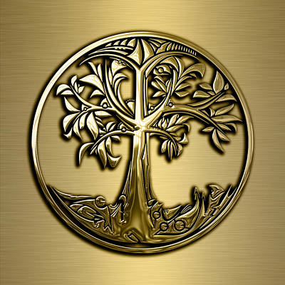 Tree Of Life Collection Poster by Marvin Blaine