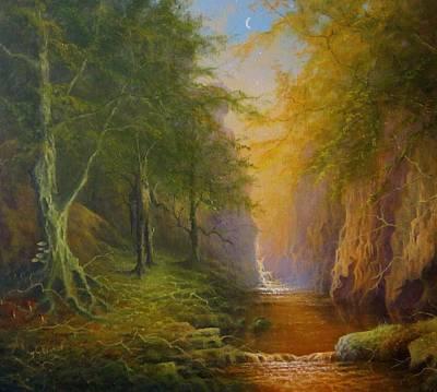 Fairytale Forest Tree Spirit Poster