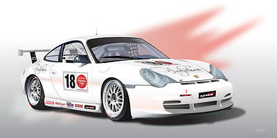 Trefethen  Gt3 Cup Poster by Alain Jamar