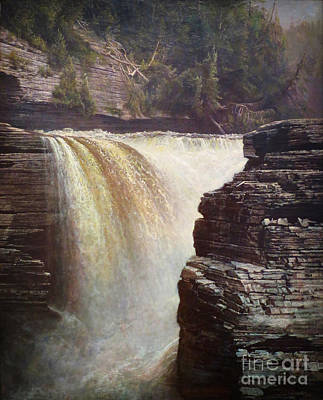 Trenton Falls Near Utica New York Poster