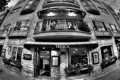 Tresca Storefront - Boston North End Poster