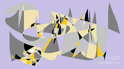 Triangles On Parade Poster