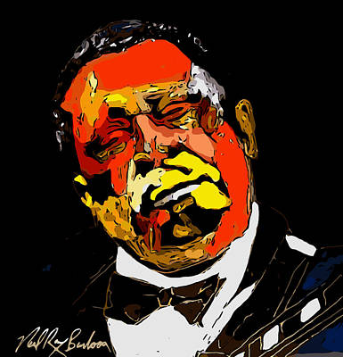 tribute to BB King reworked Poster