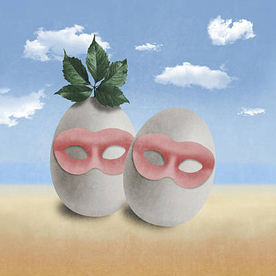 Tribute To Magritte Poster by Absentis Designs
