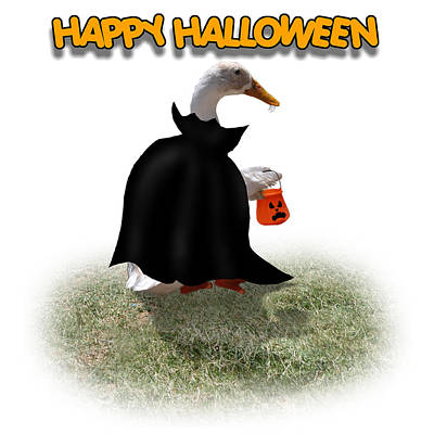 Trick Or Treat For Count Duckula Poster by Gravityx9  Designs