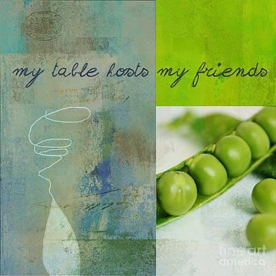 Triloli Kitchen Decor - Green Tx51  Poster
