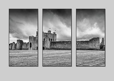 Trim Castle Triptych  Poster