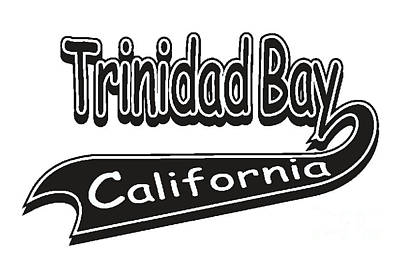 Trinidad Bay California Poster
