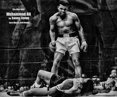 Trinity Boxing Gym Ali Vs Liston  Poster