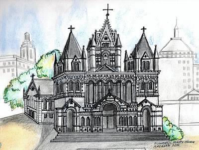 Trinity Church Boston Poster