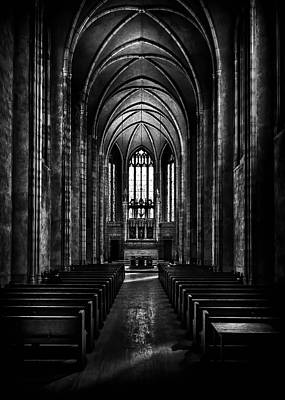 Poster featuring the photograph Trinity College Chapel by Brian Carson