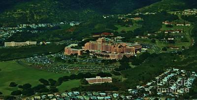 Tripler Army Medical Center Honolulu Poster by Craig Wood