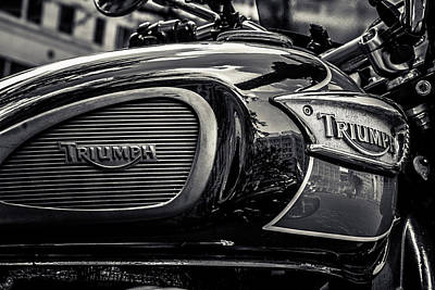 Triumph  Poster by Off The Beaten Path Photography - Andrew Alexander