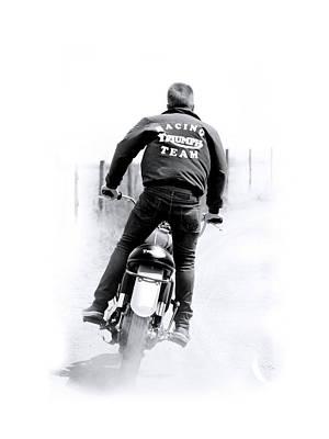 Triumph Racing Team 1967 Poster by Mark Rogan