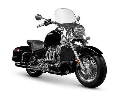 Triumph Rocket IIi Motorcycle Poster by Oleksiy Maksymenko