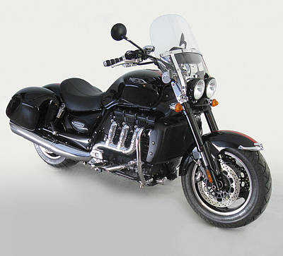 Poster featuring the photograph Triumph Rocket IIi by Richard Wiggins