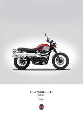 Triumph Scrambler 2015 Poster