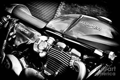 Triumph Thruxton 1200 R Poster