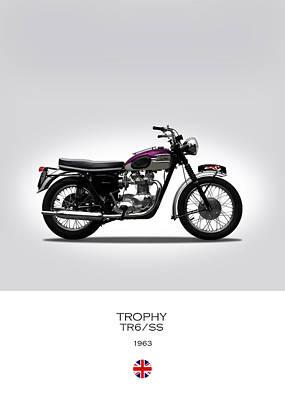 Triumph Trophy 1963 Poster