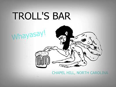 Troll's Bar Chapel Hill Nc Poster