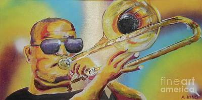 Trombone Shorty Poster by Kevin King
