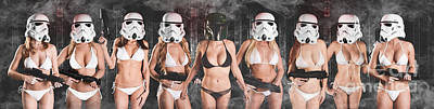 Trooper Army  Poster by Jt PhotoDesign