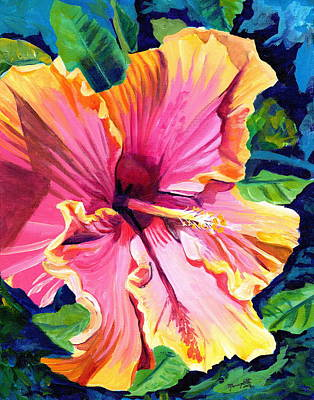 Tropical Bliss Hibiscus Poster