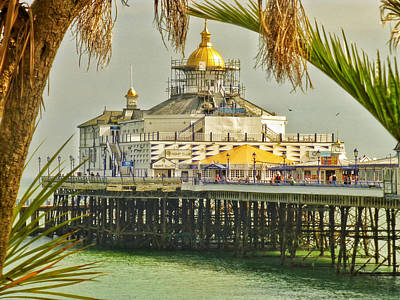 Tropical Eastbourne Poster by Connie Handscomb