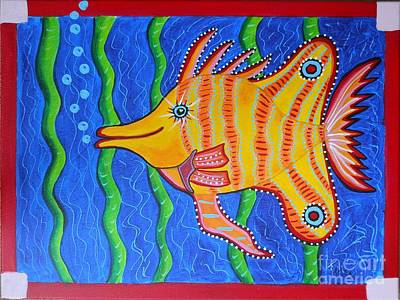 Tropical Fish Poster by Claudia Tuli