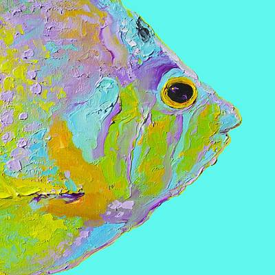 Tropical Fish For Coastal Decor Poster by Jan Matson