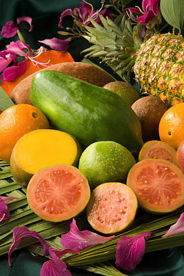 Tropical Fruits Poster