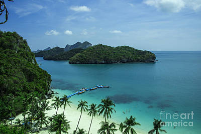 Tropical Island Breeze  Poster