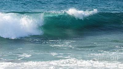 Tropical Treasure Coast Florida Seascape Wave 99 Poster