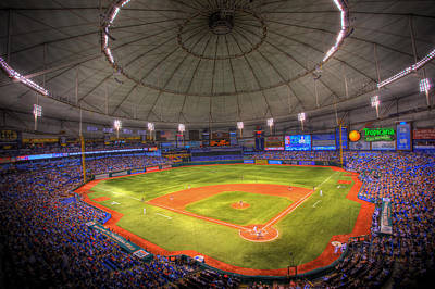 Tropicana Field Poster by Shawn Everhart