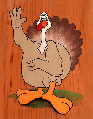 Troy Turkey Poster