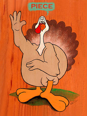 Troy Turkey - Piece Poster