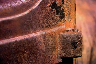 Truck Door Hinge Poster by Onyonet  Photo Studios