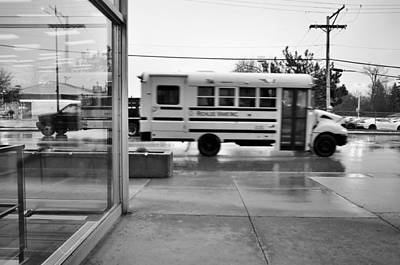 Poster featuring the photograph Truckin' In The Rain by Jeanette O'Toole