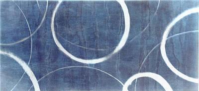 True Blue Ensos Poster by Julie Niemela
