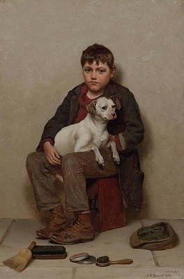 True Friends Poster by John George Brown