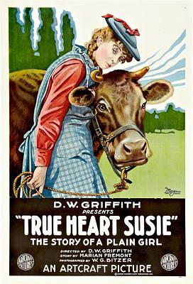 True Heart Susie 1919 Poster by Mountain Dreams