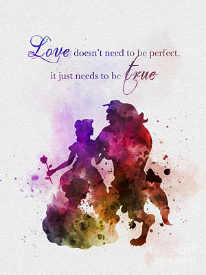 True Love Poster by Rebecca Jenkins