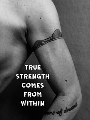 True Strength Poster