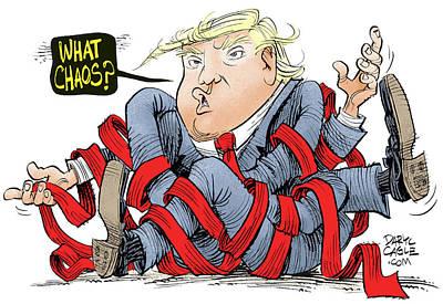 Trump Chaos Poster